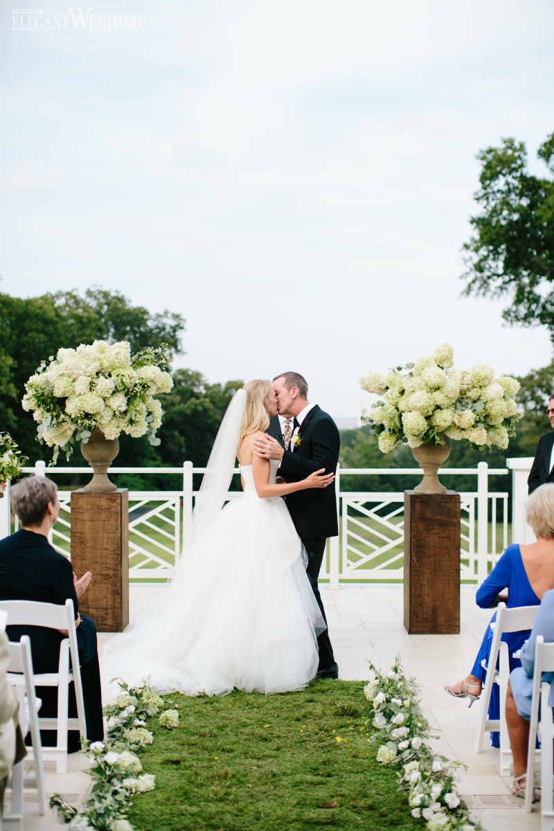 Elegant Black-Tie Wedding with Greenery | Pinterest | Greenery ...