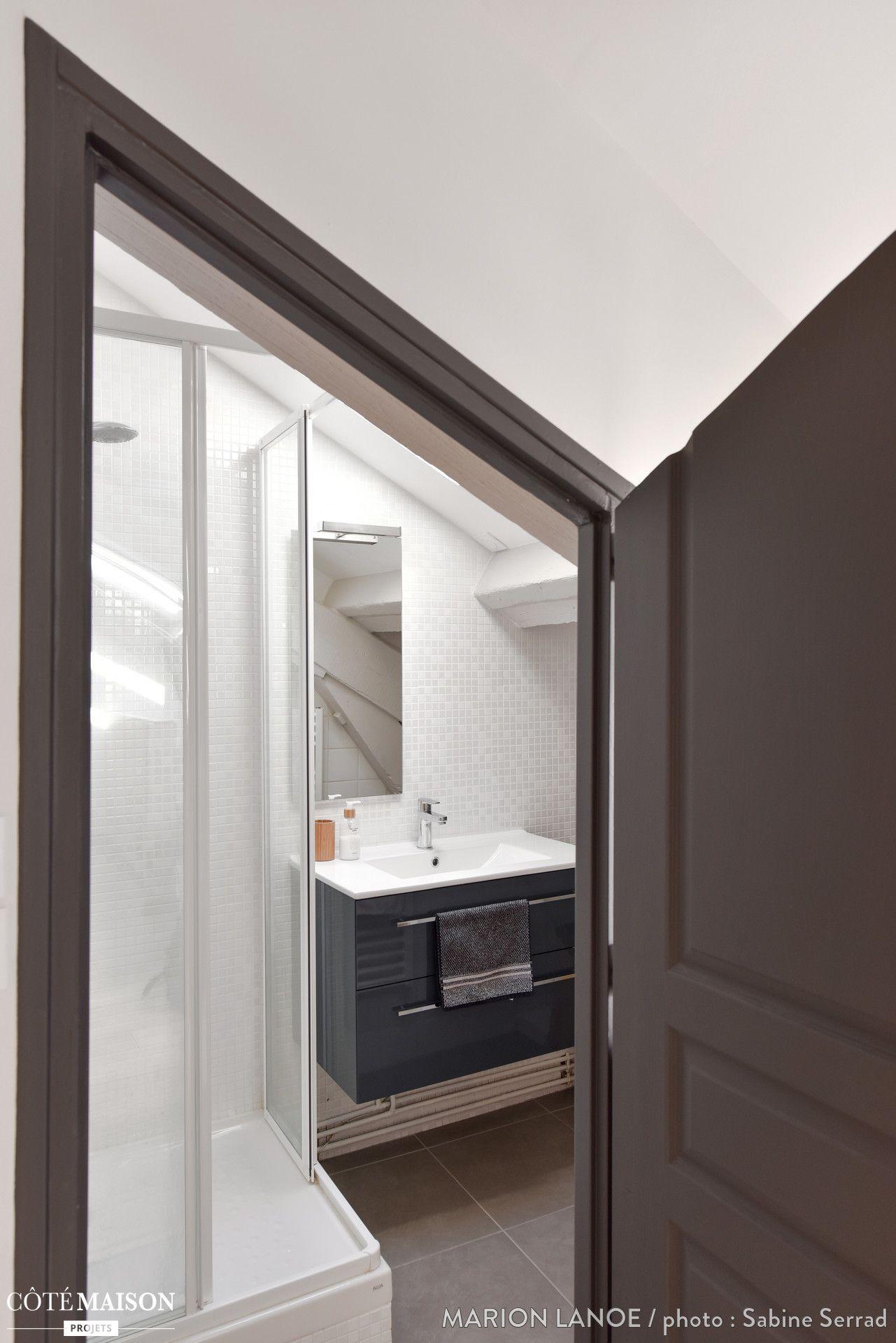 Detaillant Salle De Bain Quebec ~ R Novation D Un Studio Lyon 06 Marion Lano C T Maison