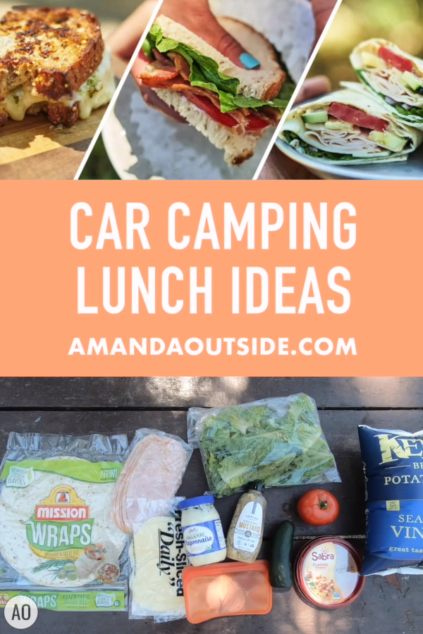 Photo of 3 Super Easy Camping Lunch Ideas