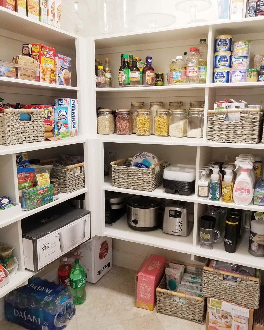 7 Genius Pantry Organization Ideas And Pantry Storage Ideas Pantry Storage Diy Pantry Organization Kitchen Pantry Storage