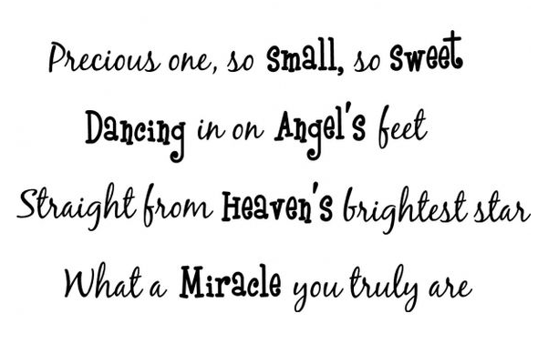 Baby Quotes Sweet Cute Baby Love Quotes Baby Blessing Quotes Miracle Baby Quote