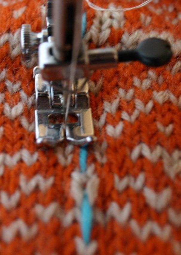 armhole steek on tiger lily | knit techniques | Pinterest | Fair ...