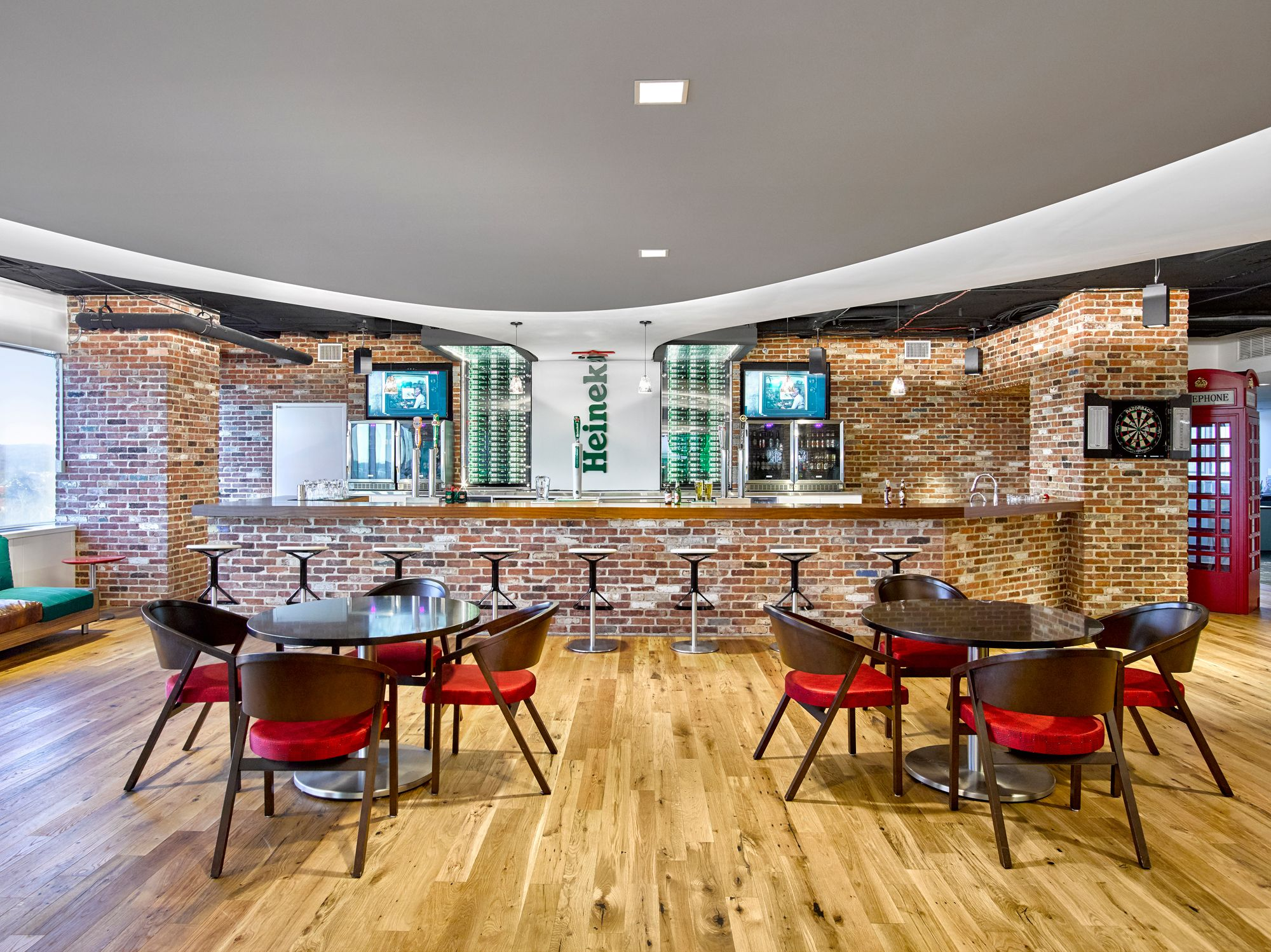 Interior Design Magazine Featured Heinekens Lavish New Digs By Focusing