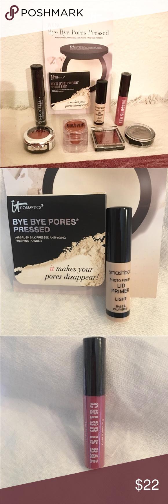 Ipsy Makeup Bundle Smashbox iT cosmetics NYX NWT (With
