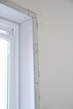 Removing Window Casing For Trimless Windows Wooden Window Frames Interior Window Trim Window Trim