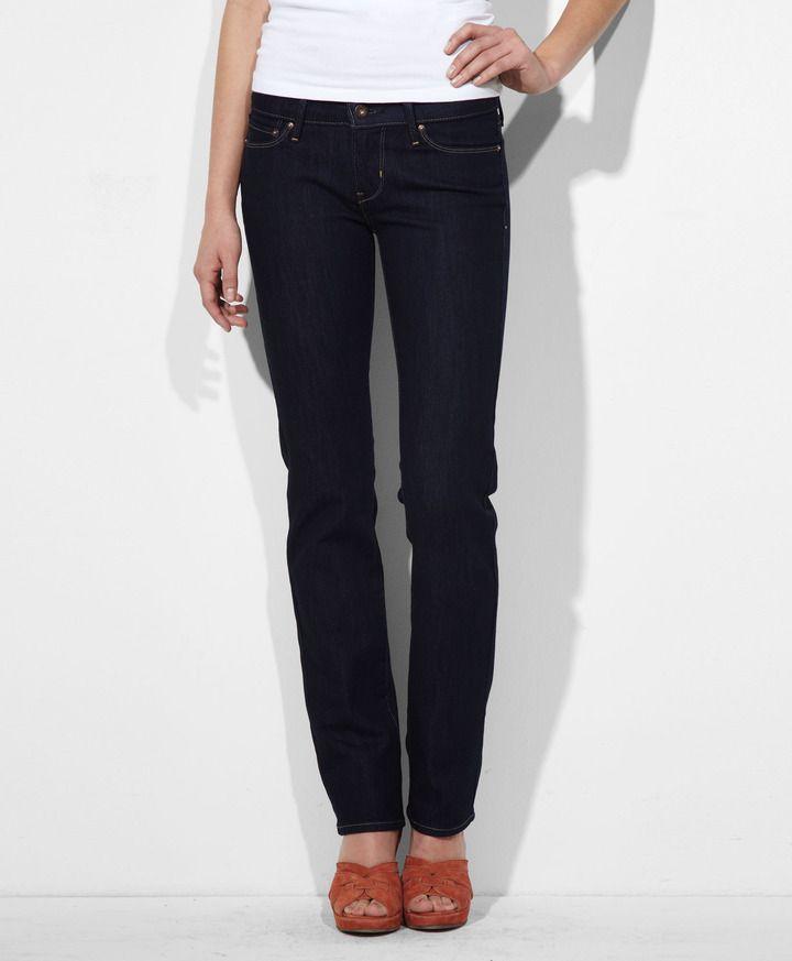 0abb2bb5 Levi's Modern Rise Slight Curve Straight Jeans on shopstyle.com ...