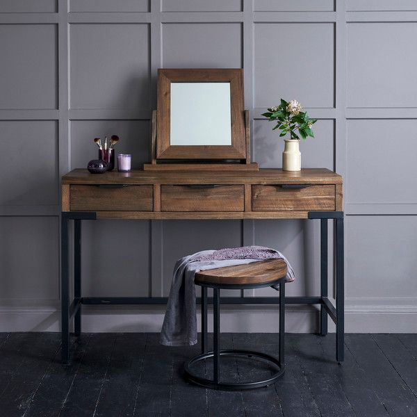 Solid Acacia and Metal Dressing Tables - Dressing Table ...