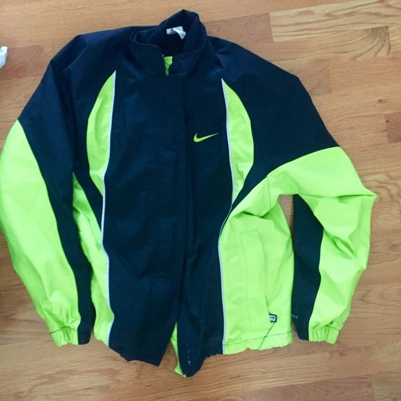 0416ee5011 Nike Windbreaker Neon yellow ❄️️CLOSET CLEAROUT❄ Please bundle and ask for  unlisted!