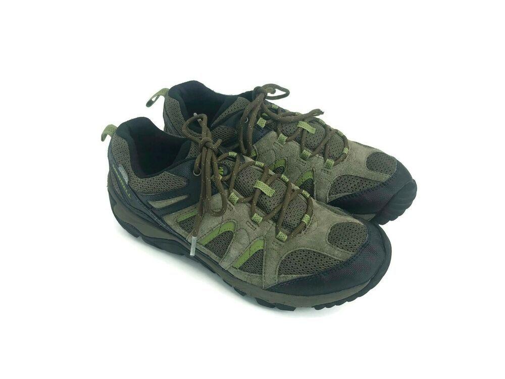 Merrell Men's Hiking Shoes Black Gray