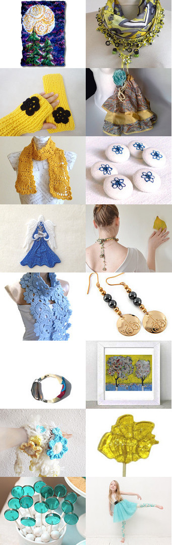 Yellow Lemon Lollipop Day by Gail on Etsy--Pinned with TreasuryPin.com
