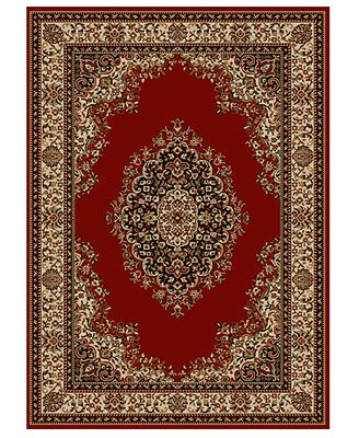 Living Room Rug Kenneth Mink Area Set Roma Collection 3 Piece Kerman Red Macy S