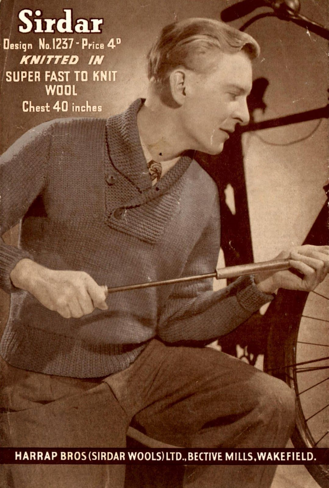 1940\'s Style For You...her page is full of free wartime-era knitting ...