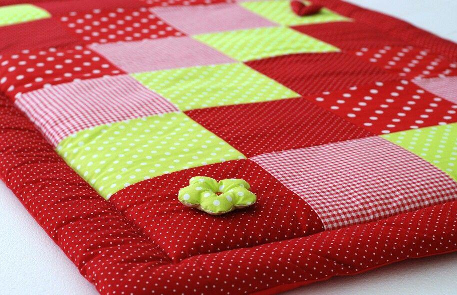 babydecke costura pinterest n hen deckchen und krabbeln. Black Bedroom Furniture Sets. Home Design Ideas
