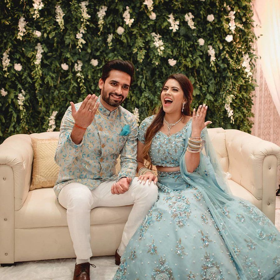 19+ Brides Who Prove Powder Blue is the New Red for Weddings