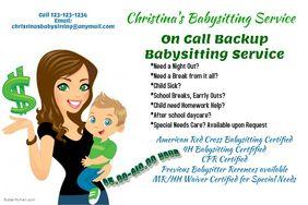 Babysitting Flyers idea | Child Development | Pinterest ...