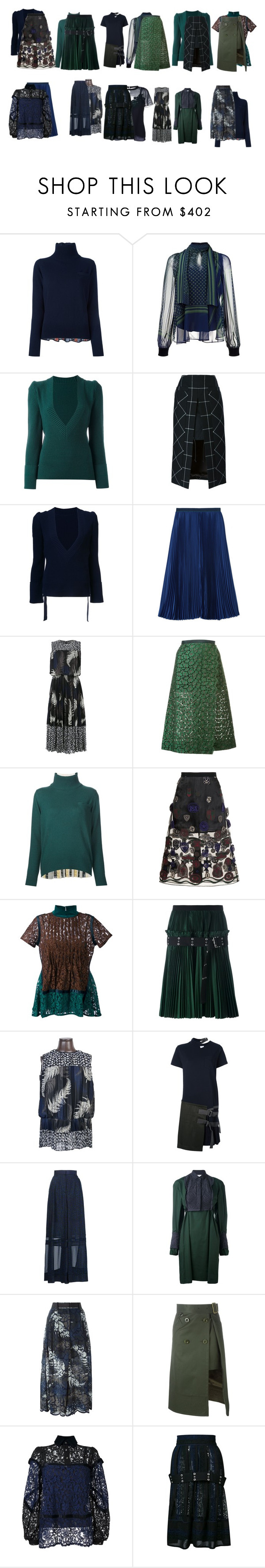 """Untitled #4165"" by luciana-boneca on Polyvore featuring Sacai and Sacai Luck"