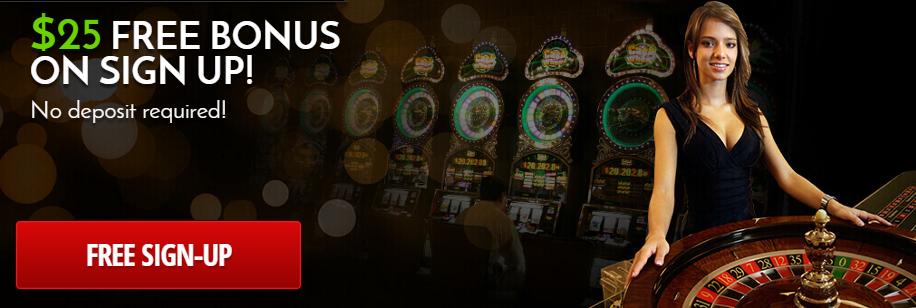 No deposit required sign on bonus casino free line casino game