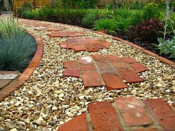 garden ideas using bricks pathway -   22 chodnik garden path ideas