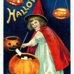 Halloween Sweet Witch Image