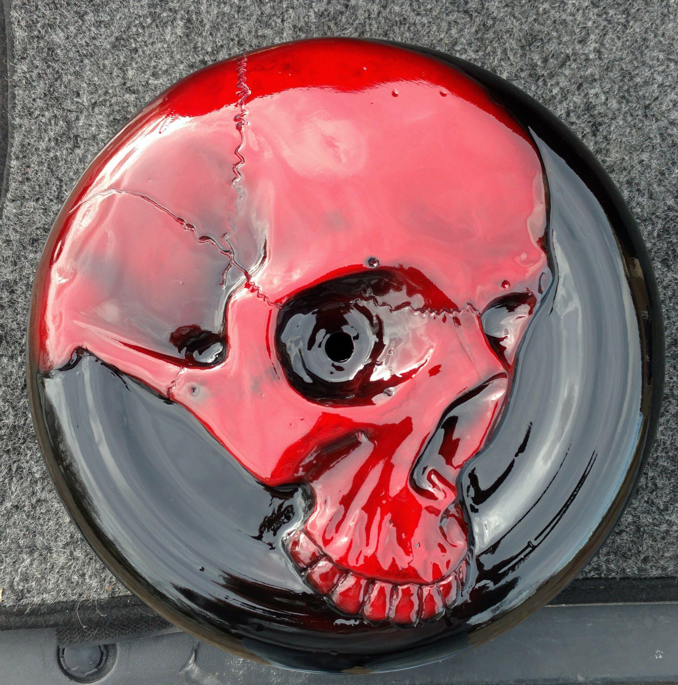 Punisher Skull Black Billet Knurled Air Cleaner Cover Bolt For Harley