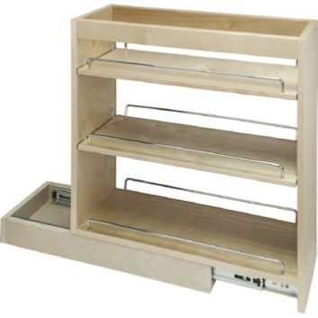 Spice Rack And Cabinet Pull Out Diy Muebles Ideas Muebles Muebles Organizadores
