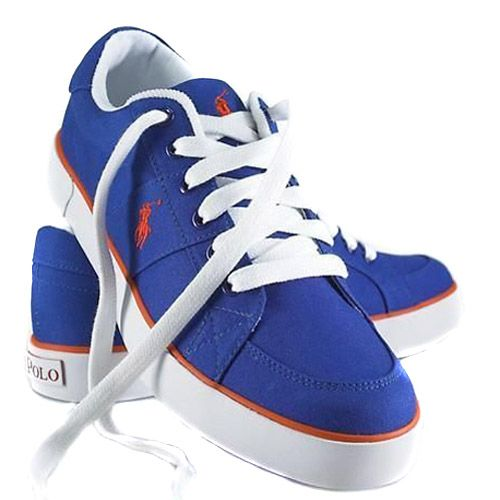 Polo shoes, Sneakers blue, Sneakers