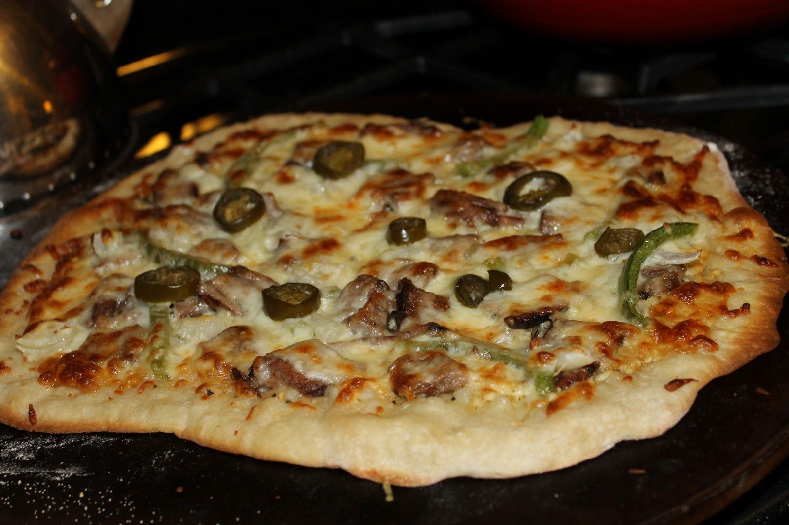 The Little Things Philly Cheesesteak Pizza Philly