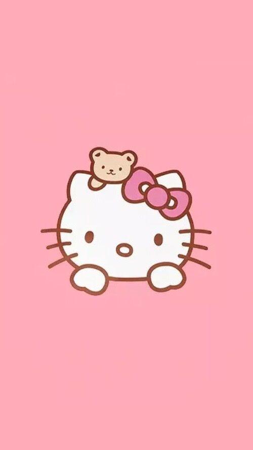 Pin By Chompoo Wanwisa On Hello Kitty3 Hello Kitty Pictures Hello Kitty Backgrounds Hello Kitty Wallpaper