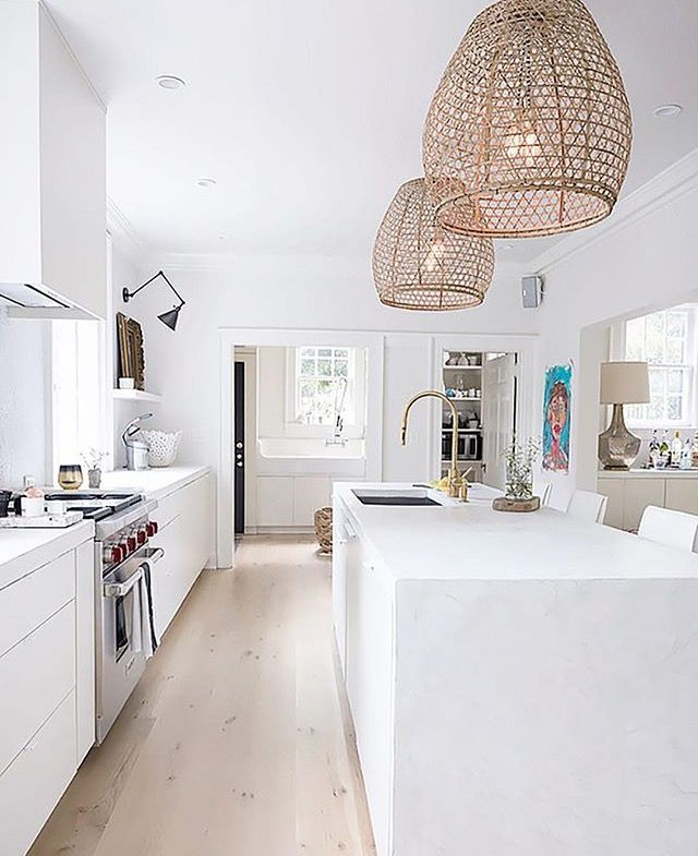 Low Cost Kitchen Updates: Pin By Alison Maloney On Rattan/Wicker Pendant Lights In