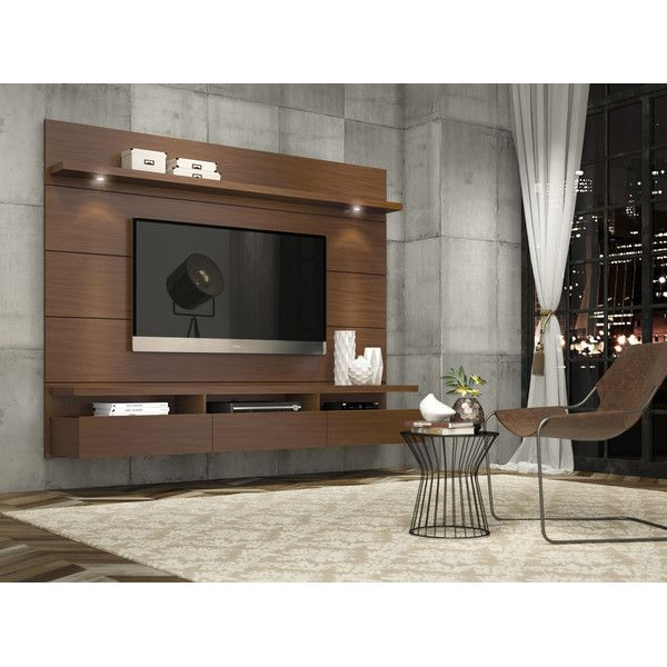 "Wood Panel Wall Behind Tv: Julius Entertainment Center For TVs Up To 60"" In 2019"