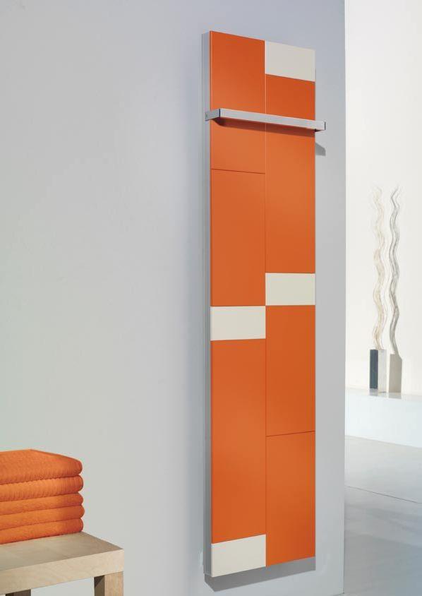 Bathroom Radiator - I like orange
