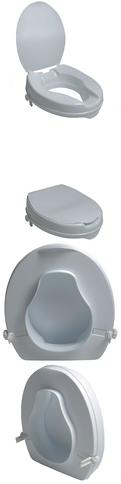 2 inch toilet seat. Toilet Seats  Pcp Molded Seat Riser With Lid White 2 Inch New