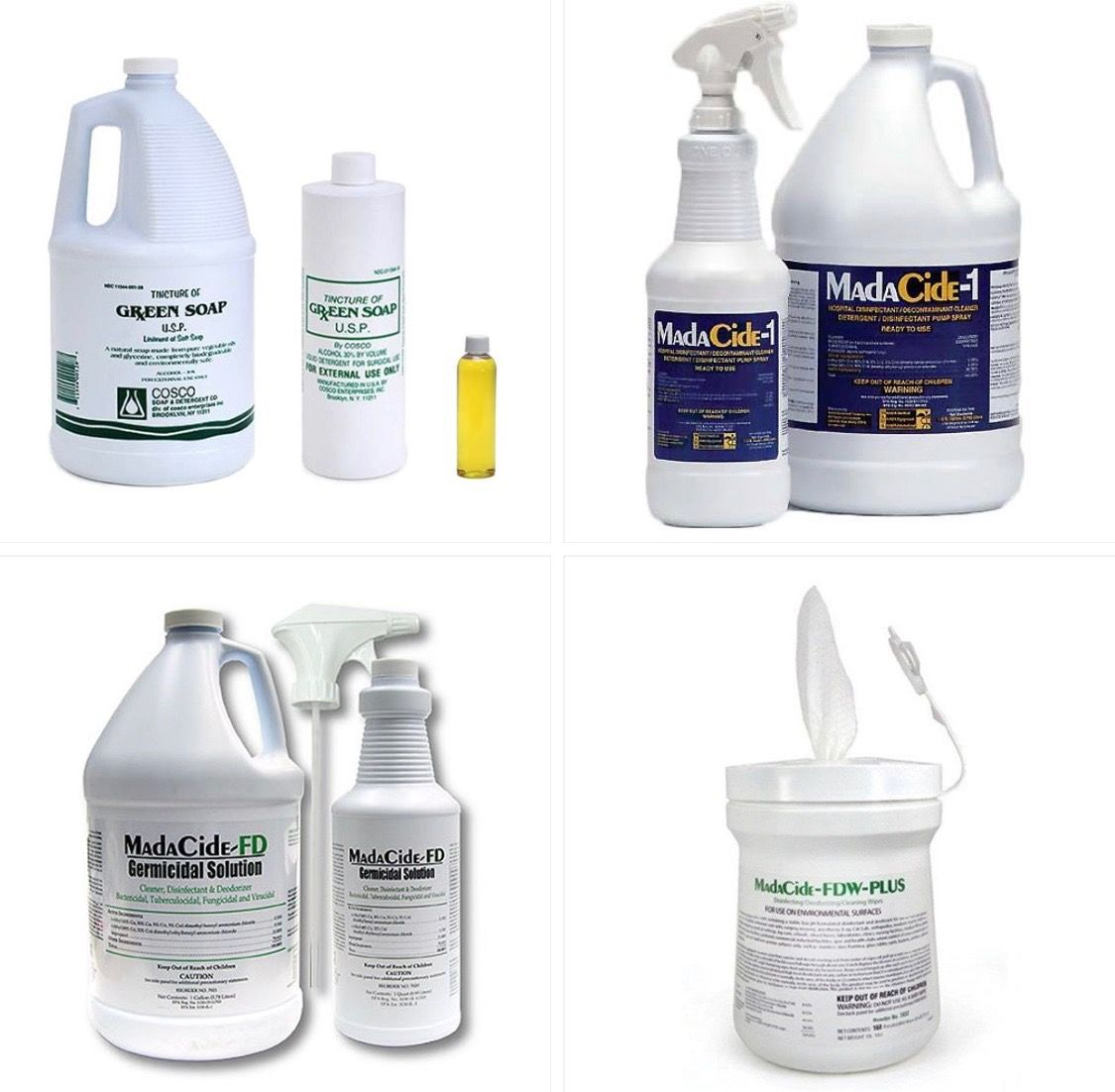 Madacide Madacide Fd Green Soap All You Disinfectants Many Options And Sizes At Needlejig Tattoo Supply Tattoo Equipment Tattoo Supplies Life Tattoos