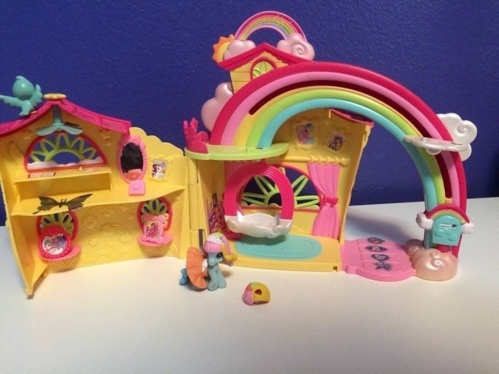 My Little Pony Rainbow Dash Doll House With Original Pieces Hasbro