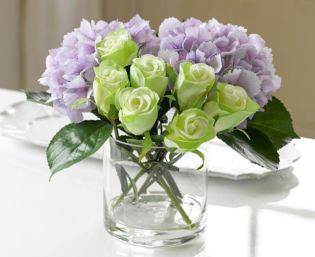 Rose and hydrangea arrangement bloom artificial flowers rose and hydrangea arrangement bloom artificial flowers artificial flowers hydrangea and artificial flower arrangements mightylinksfo