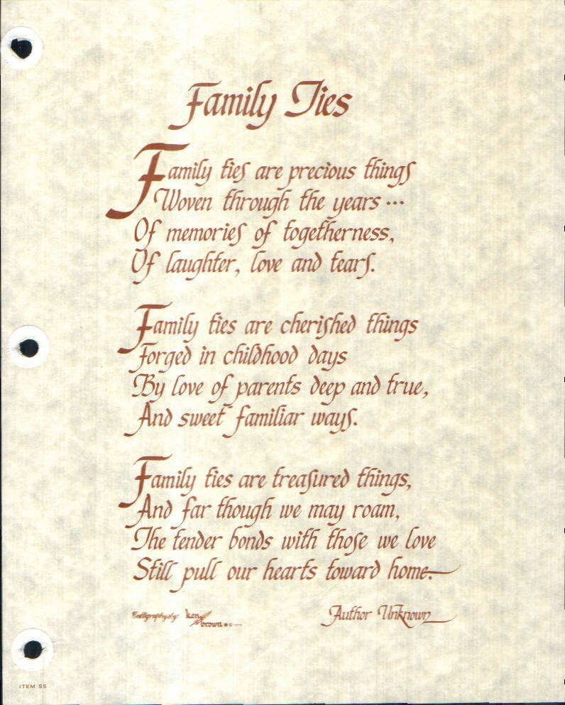 Summary -> A Grandparents Love Family Love Poem Family Friend Poems