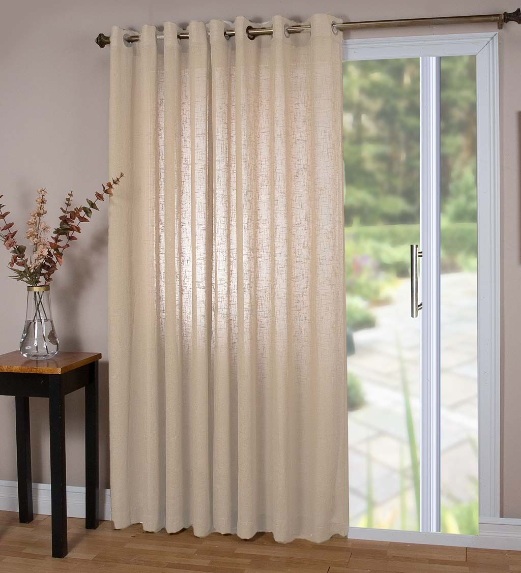 Easy Care And Elegant Our Sheer Linen Curtains Bring Style And