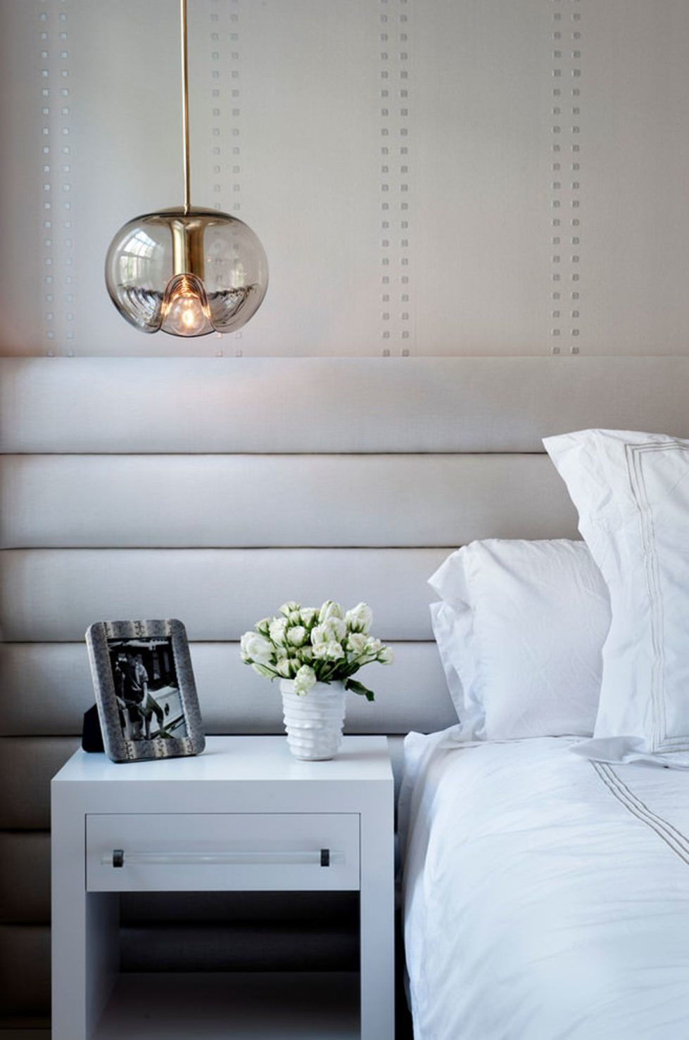 New york townhouse in a mixed style bedroom the eclectic style