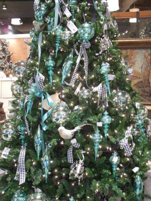 Christmas In The Lehigh Valley Teal Christmas Tree Christmas Tree Decorations Teal Christmas