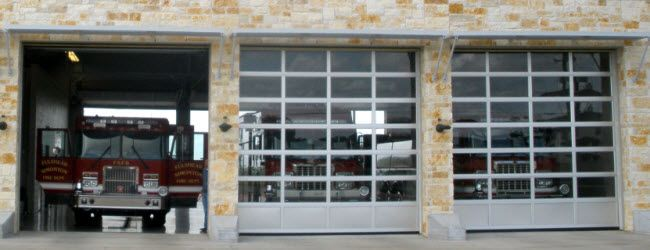 Overhead Door S Sectional Aluminum Glass Door Model 521
