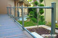 Custom deck railing lets you create your perfect outdoor living space.