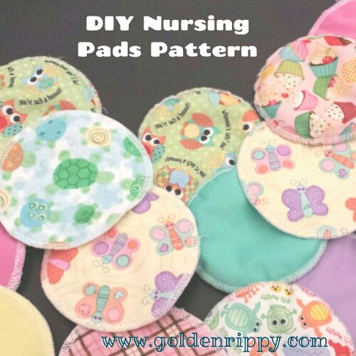 Free DIY Nursing Pads Pattern. Perfect for mums! This is the new ...