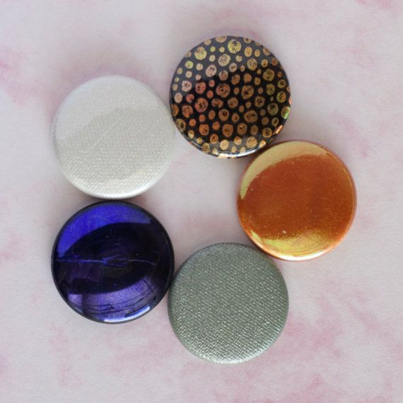 Nightlife Button Set by thriftlovershop on Etsy, $6.00