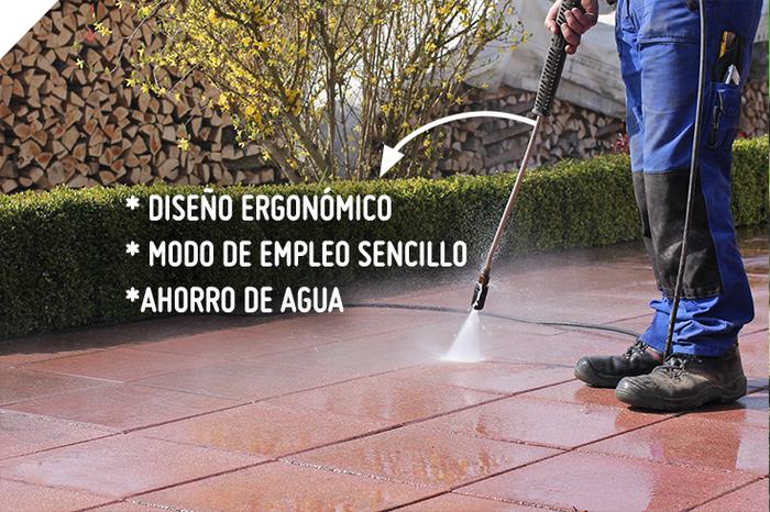 ¿Sabías que con la ayuda de una hidrolavadora ahorras la mitad de tiempo, que limpiando tus espacios de forma convencional? #Sodimac #Homecenter.