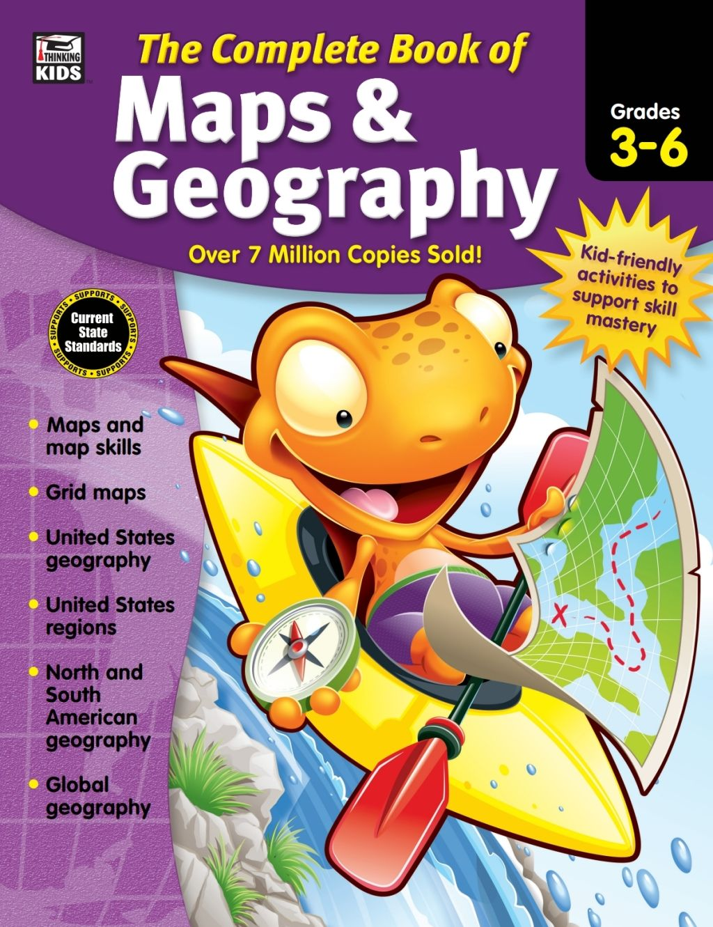 The Complete Book Of Maps Geography Grades 3 6 Ebook