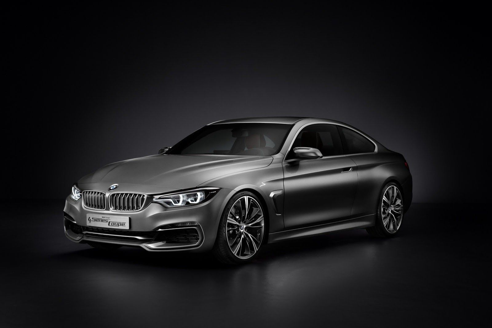 Official preview 2014 bmw 4 series coup concept