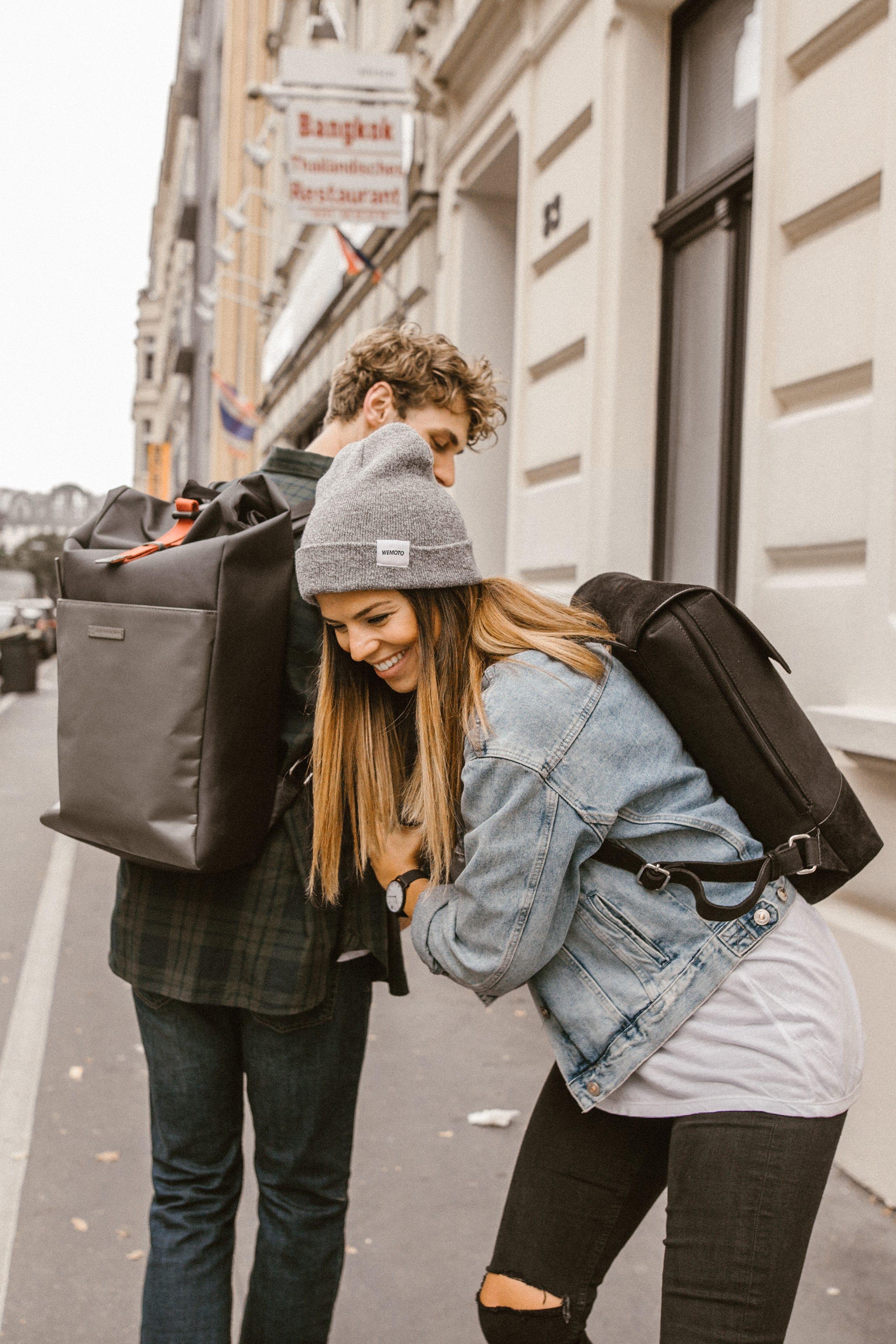 bike backpack | rucksack | messenger backpack | travel with style | vegan |  women and