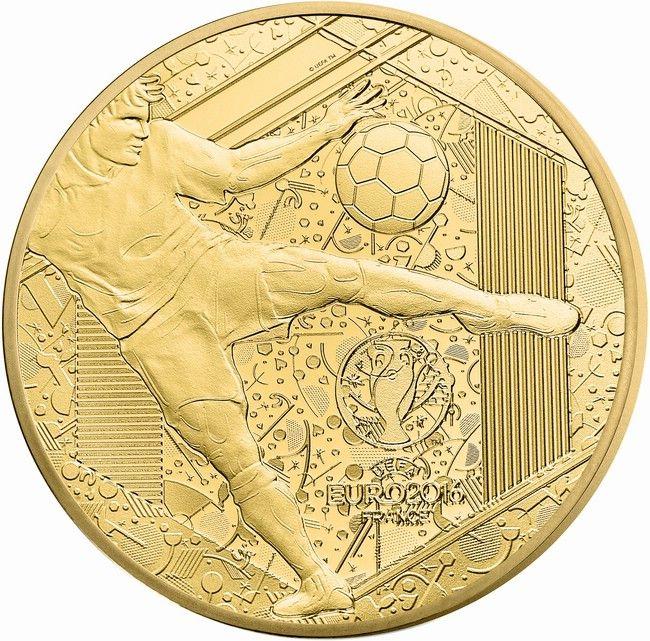 50 Euro Gold UEFA Euro 2016 PP