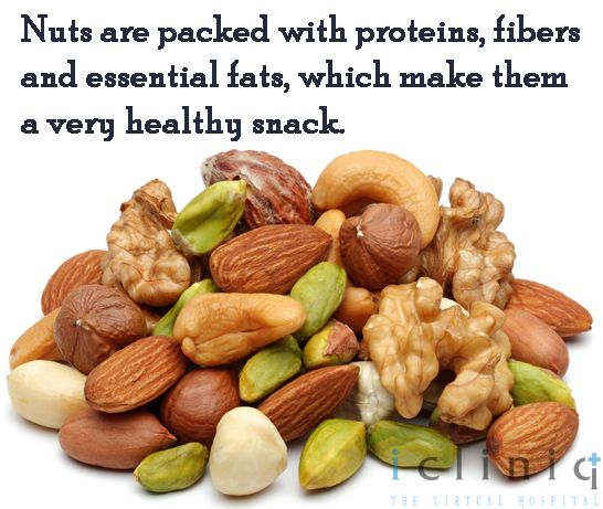 Nuts are packed with #proteins, fibers and essential fats, which make them a very healthy #snack.