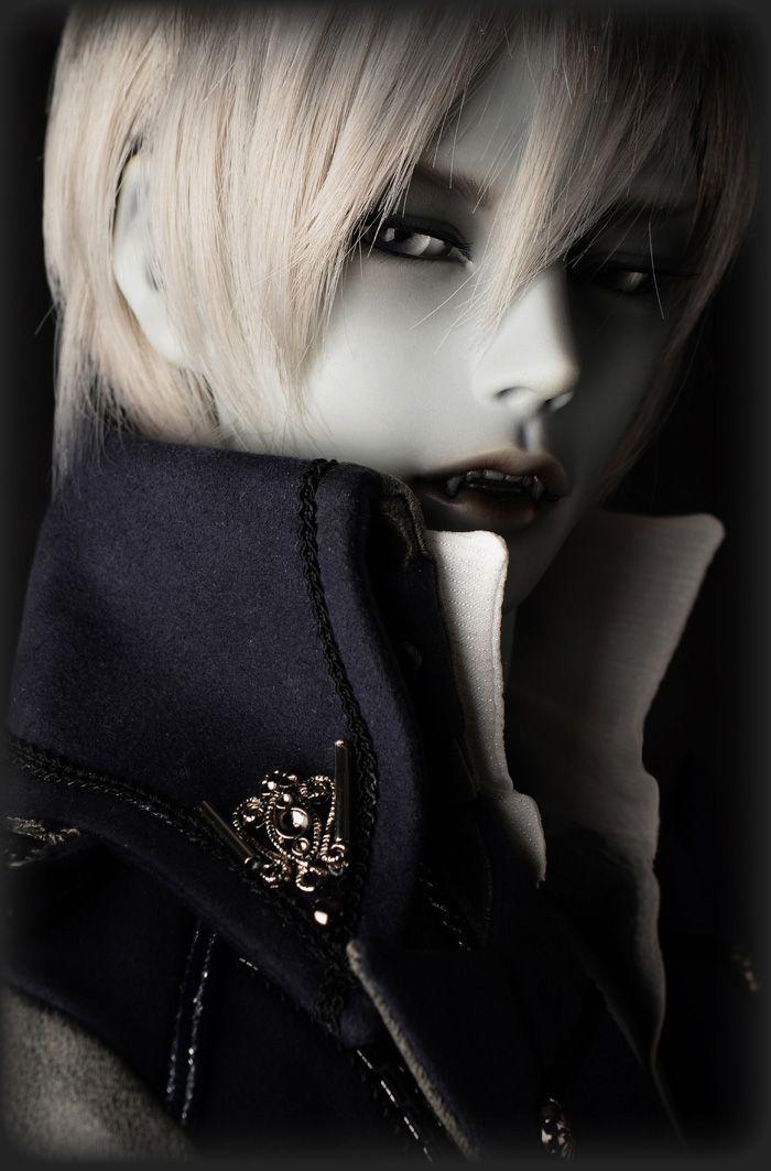 face make up 1//3 bjd doll Gluino-Vampire Human free eyes